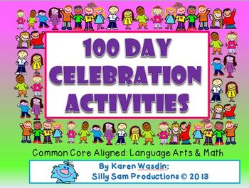 100th DAY! MATH & LITERACY ACTIVITIES