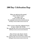 100 Day Celebration Rap