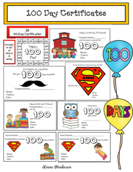 100 Day Certificates: A 1,000 Followers FREEBIE