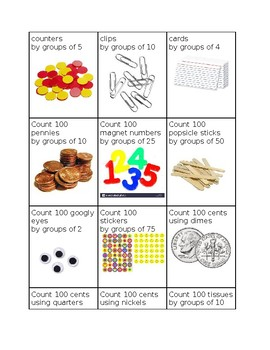 100 Day Counting Activity
