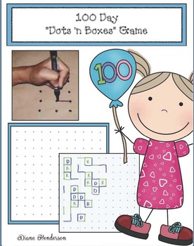 """100 Day """"Dots 'n Boxes"""" Game"""
