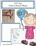 """Free 100 Day Activity: """"Dots 'n Boxes"""" Game. Perfect for 100 Day!"""