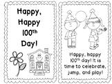100th Day Emergent Reader