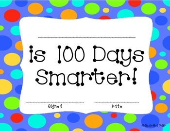 100 Day - FREE Certificates!