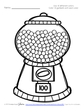 100 Day Gum Balls
