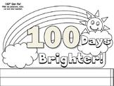 100th Day HAT by Teacher's Brain