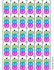 100 Day Holiday Brag Tags - Includes Bonus Hundred Day STEM Activity