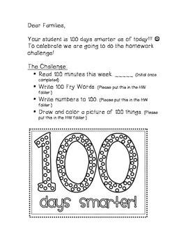 100 Day Homework Challenge