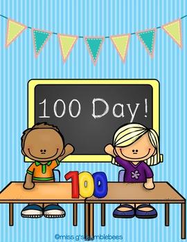 100 Day Literacy & Math