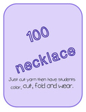 100 Day Necklace Freebie