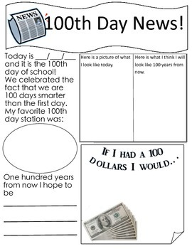 100 Day Newspaper