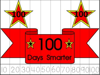 100th Day Of School Skip Counting by 10 To 100