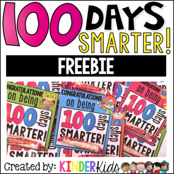 100 Day Smartie Tags