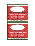 100 Day Snack Label