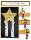 100 Day Craft: Star Student Badge With 100 Stars! Perfect for 100 Day