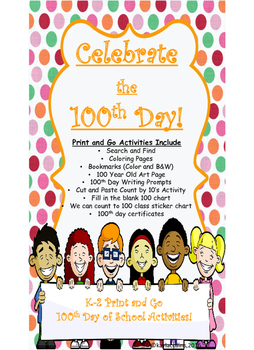 100 Day of School, Celebrate the 100th Day, 100 Days Smarter