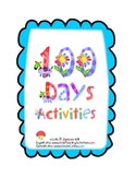 100 Days Actvities- English
