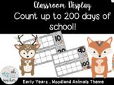 200 Days Brighter Ten Frame Countdown | Natural Theme