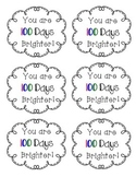 100 Days Brighter tag