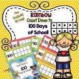 100 Days Countdown: Rainbow