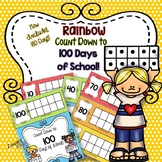 100 Days Countdown: Rainbow