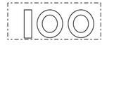 100 Days Crown Topper