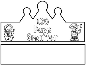100 Days Crown Teaching Resources | Teachers Pay Teachers