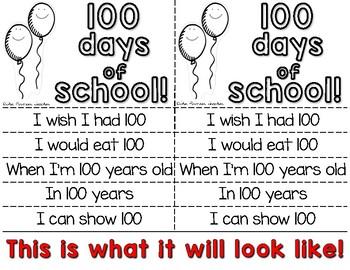 100 Days Flip Book