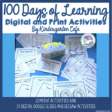 100 Days Of Learning! *New Google Slides and Seesaw activities included!