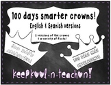 100 Days School Crowns