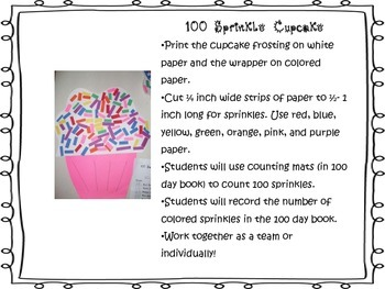 100 Days Smarter! 100th Day Activities