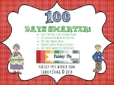 THEMED UNIT:100 Days Smarter- 100th Day of School Activities for Literacy & Math