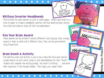 100 Days Smarter! Activities to Celebrate!