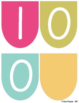 100 Days Smarter Bunting