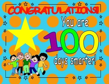100 Days Smarter Certificates