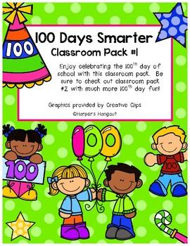 100 Days Smarter Classroom Pack #1