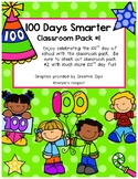 UPDATED - 100 Days Smarter Classroom Pack #1