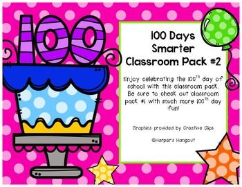 100 Days Smarter Classroom Pack #2