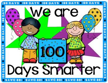 100 Days Smarter Classroom Sign