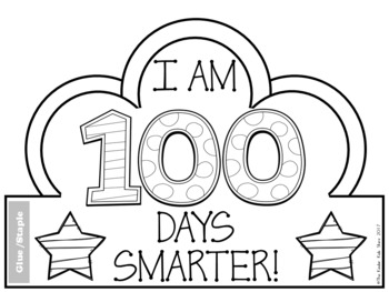 It is a picture of Dynamite 100 Days Smarter Printable