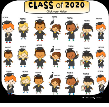 Graduation SmartBoard Attendance
