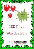 100 Days Word Seach