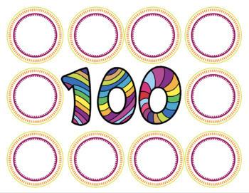 100 Days Work Mat