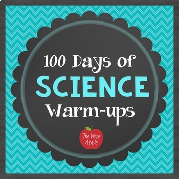 100 Days of General Science Warm-ups, Journal, Bell Work