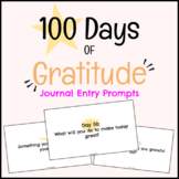 100 Days of Gratitude - Daily Journal Entry Prompt!
