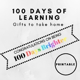 100 Days of Learning Glow Stick Gift