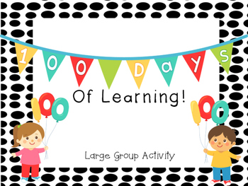 100 Days of Learning Group Sorting Activity