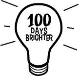 100 Days of Learning Lightbulb headband