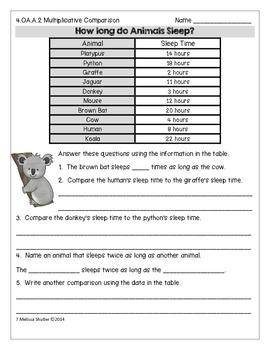 100 Days of Meaningful Math Homework- Grade 4