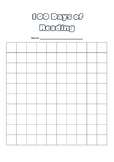 100 Days of Reading Tracker Chart